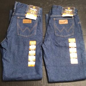 Wrangler Flame resistant pants 2 pair NWT 30x32